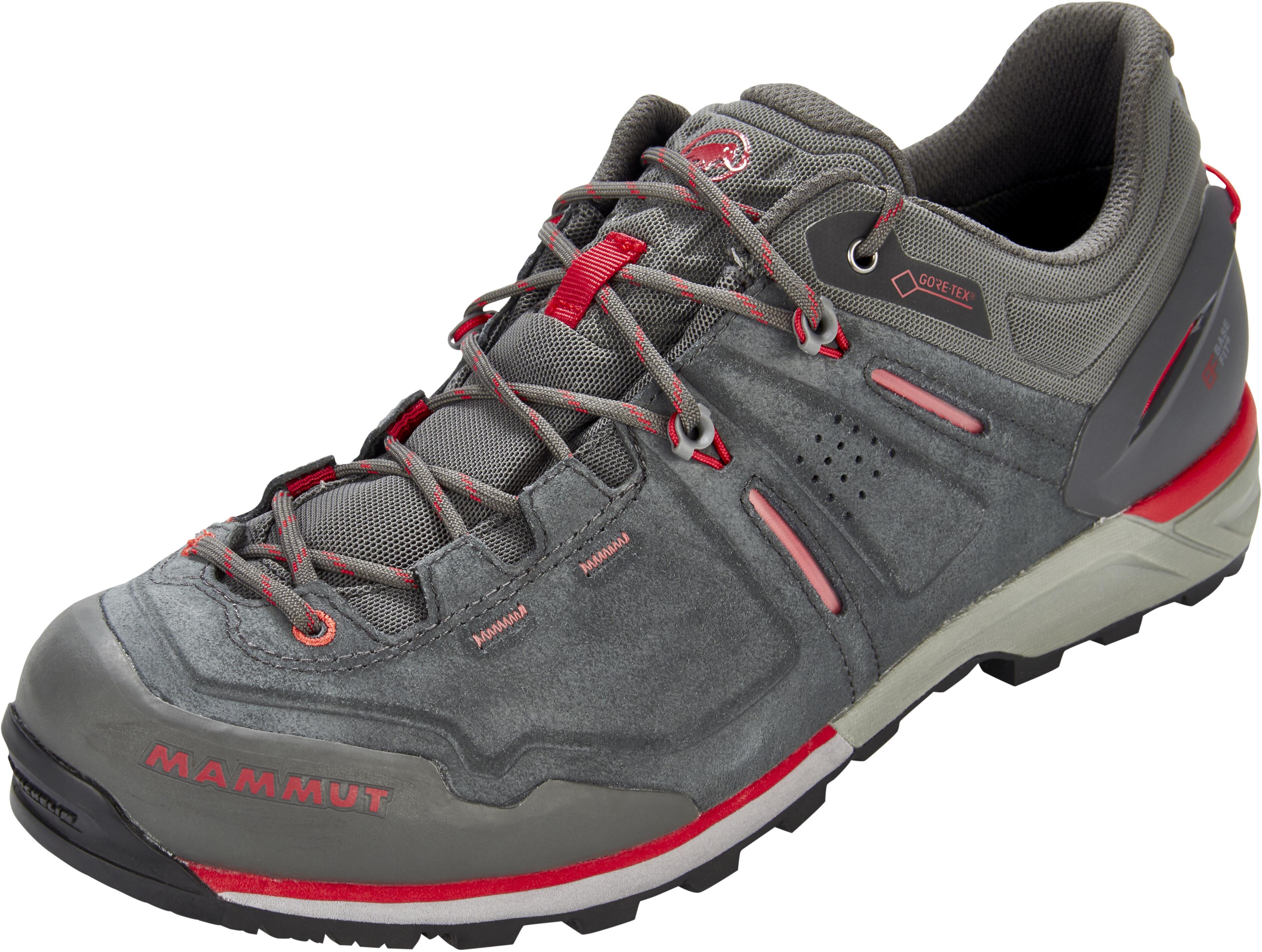Mammut Klettergurt Größen : Mammut alnasca low gtx shoes men graphite magma campz.de